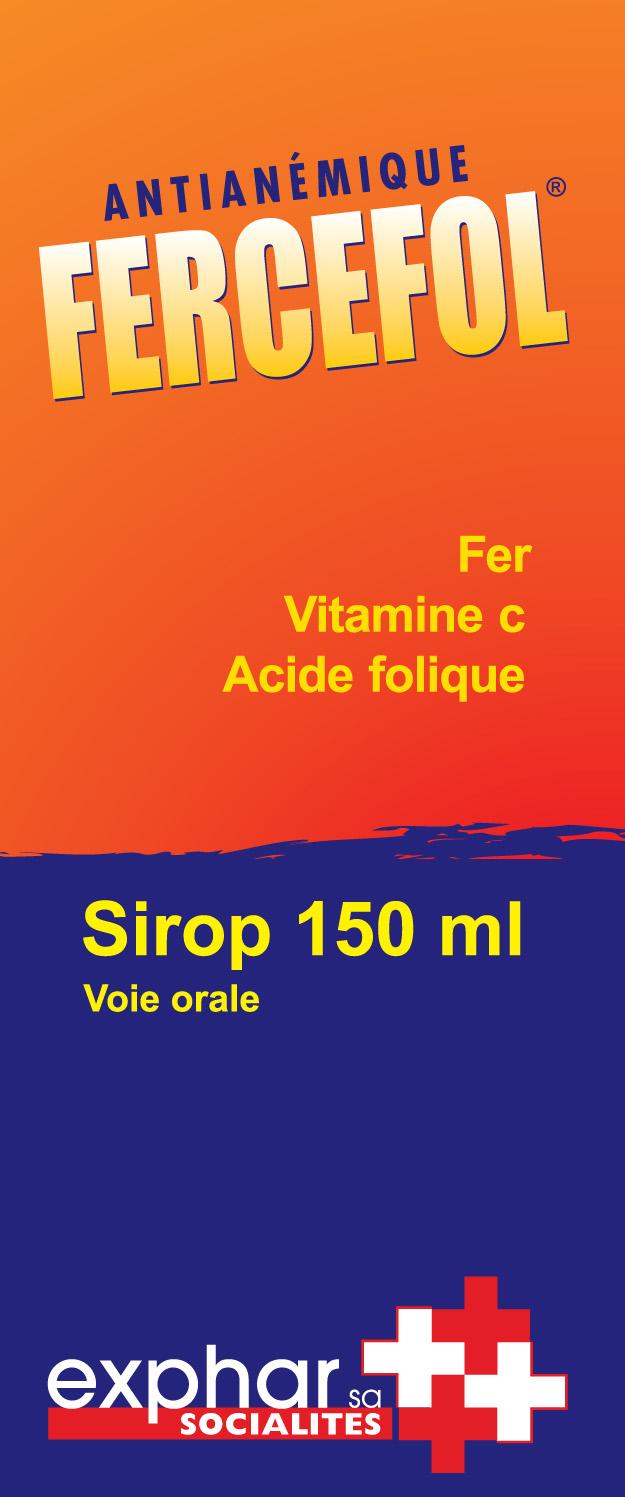 FERCEFOL SIROP